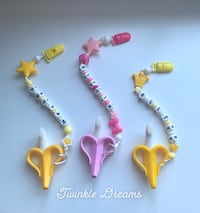 New Banana custom baby teether and pacifier holder Richmond, V6Y 1P3