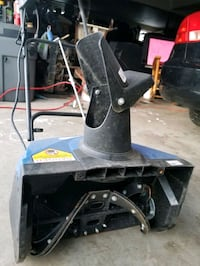 Brand new Snow Thrower ( easier on the back ! )  ????