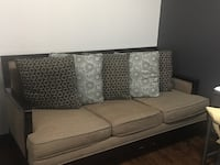 Black and gray padded armchair Fort Worth, 76028