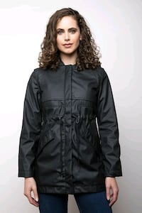 Mia melon rain jacket