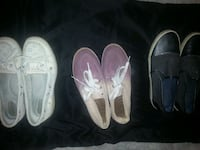 3 pairs Casual Shoes Women's size 8