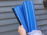 Blue Stripe Reversible Outdoor Patio Rug. 6X9 New in packaging, retail $119 New Orleans, 70130