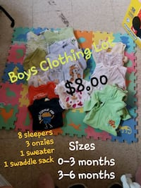 Boys Clothing Lot Winnipeg