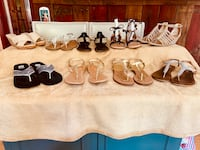 Gently Used Women's Sandals size 81/2 McHenry, 60050