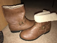 Brown boots. Faux Fur lined size 10 Nixa, 65714
