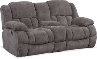 Sofa and loveseat recliner. Good condition