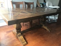Solid wood dining table $249 Dunn Loring, 22027