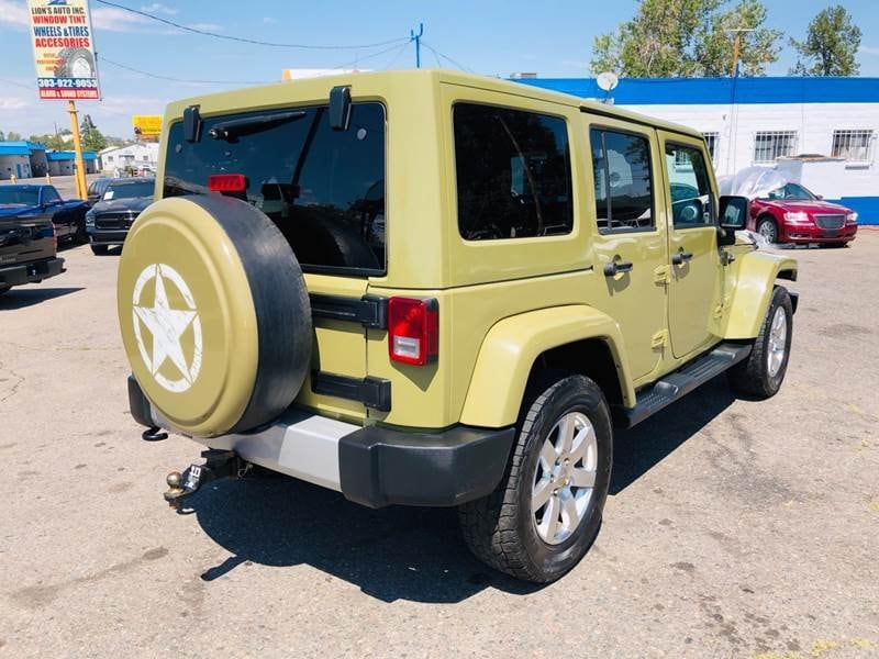 Jeep Wrangler Unlimited 2013 11