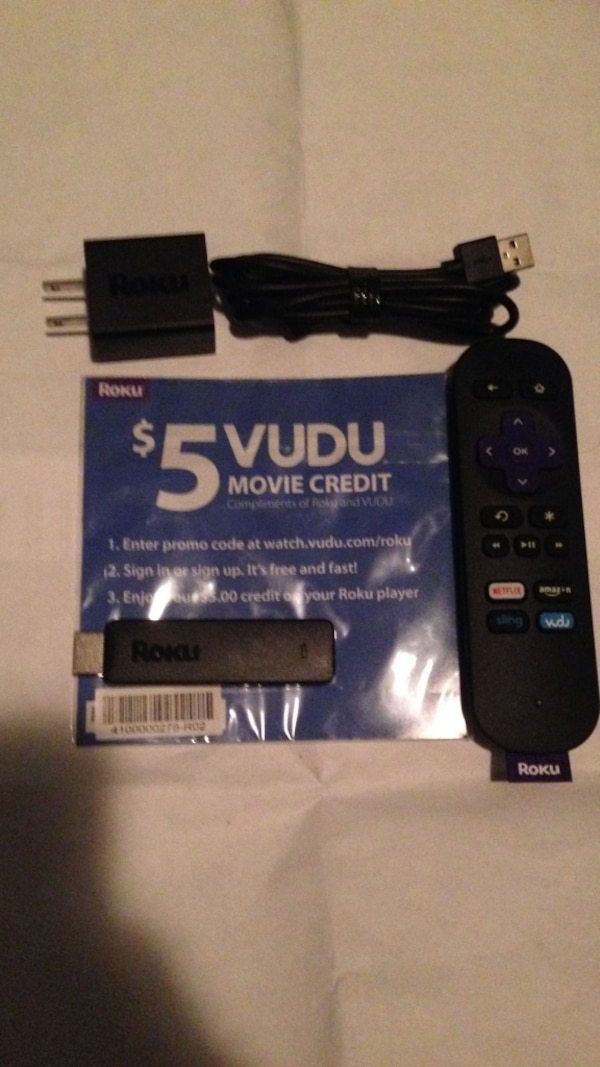 roku stick with remote