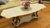 Marble Coffee table with gold legs Richmond Hill, L4E