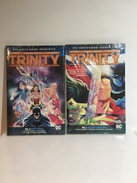 Trinity Rebirth DC Comics