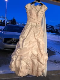 Size 6/8 blush pink dress Edmonton, T5Z 2S1