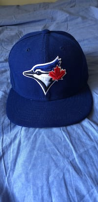 Blue toronto blue jays fitted cap