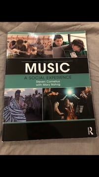 Music: A Social Experience textbook  Vaughan, L4H 0Y4
