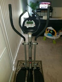 black and gray elliptical trainer Silver Spring, 20903