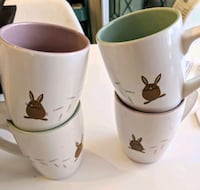 Cute bunny footprints cups mugs Toronto, M4C 2X4