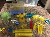 Hamster tunnels and accessories