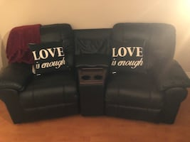 Living-room Theatre seating, (genuine leather)