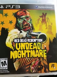 PS3 Undead Nightmare Game Pick up Only Plattsmouth, 68048