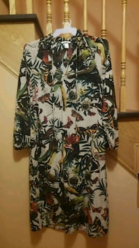 Size 6 H&M Printed Long Maxi Dress