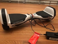 White and black hoverboard w/charger Nokesville, 20181