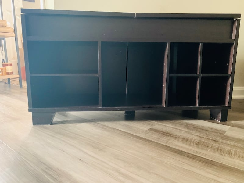 Shoe rack with bench seating and storage c5048288-1eef-4bb9-bfbf-8626c7e67e3a