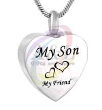Cremation Necklace-Son London, N5W 3P3