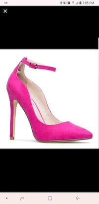 Pink Ankle Strap Heels. Size 10 Baltimore, 21229