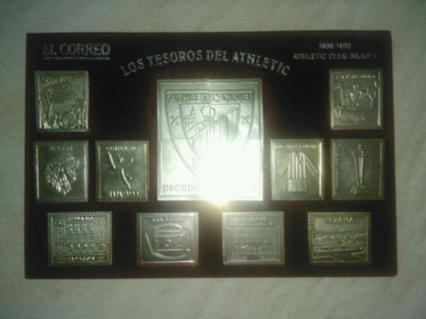 Sellos plata Athletic