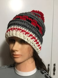 Ladies Sock Monkey Plaid Slouchy Beanie Kitchener, N2E 2J8