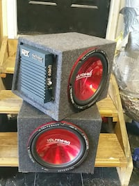 1000w subs with Blue Thunder Pro 752 amp Chesterfield, 23832
