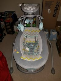 EUC 3-in-1 baby swing and chair