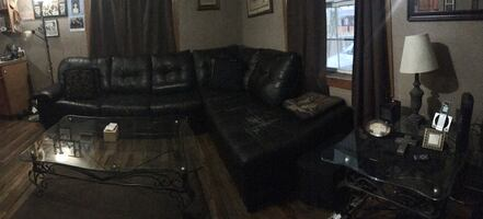 Couch and 2 coffee tables