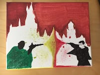 Harry Potter and Voldemort hand painted painting art  Grand Terrace, 92313