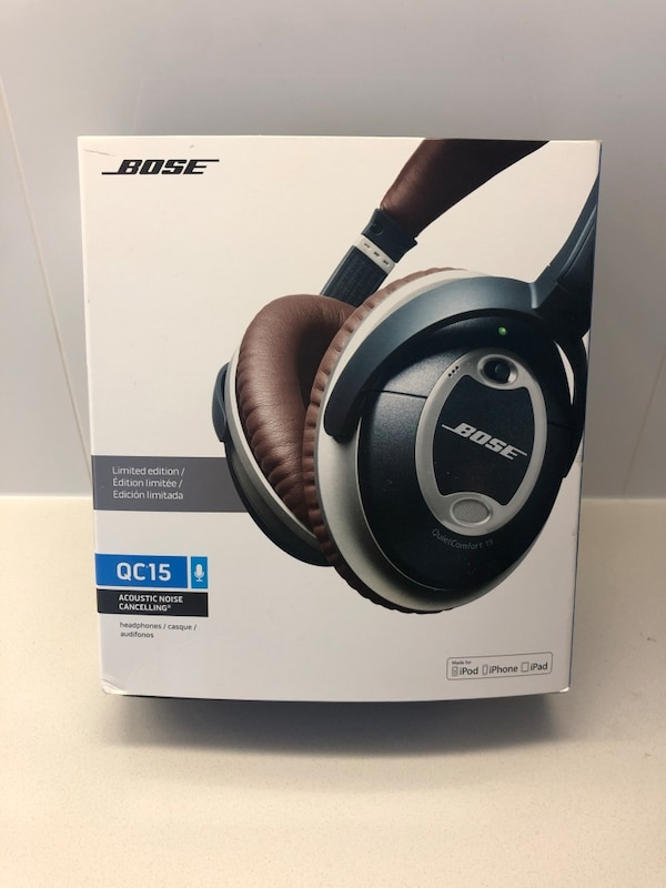 Used Bose Limited Edition Qc15 Acoustic Noise Cancelling Headphones