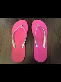 Ladies size 7-8 Havaianas Excellent Condition  Milton