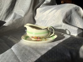 Vintage Gravy Boat and Saucer