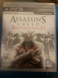 Assassin's Creed Brotherhood Sony PS3 game case 2378 mi