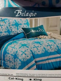 blue and white floral bed sheet San Jose, 95126