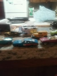 blue and black die-cast car toy Atwater, 95301