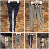 LOT of 2 PAIR of CARTER'S Toddler Child Size 5 Sweat Pants Cozy and Warm - EUC - SHIPPING AVAILABLE Pascoag, 02830