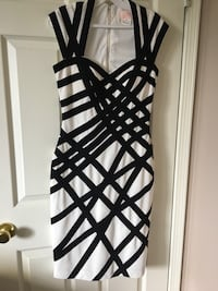 Black and white spaghetti strap dress Edmonton, T5Z 2S1