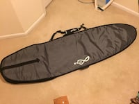 FCS TRAVEL 1 FUNBOARD SURFBOARD COVER Fairfax, 22030