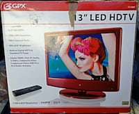 "gpx 13"" hdtv + remote excellent quality Woodstock, 22664"