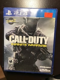 Call of duty infinite warfare ps4 game case Montréal, H4B
