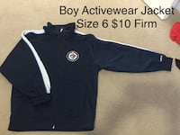 Winnipeg Jets Boy Jacket Size 6 Winnipeg, R2P
