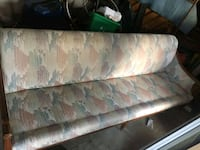 brown and green floral fabric sofa Toronto, M6L 2R7