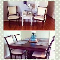 Dining table and chairs Oceanside, 92058