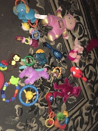 baby's assorted toy lot