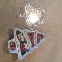 Christmas candy dishes Coram